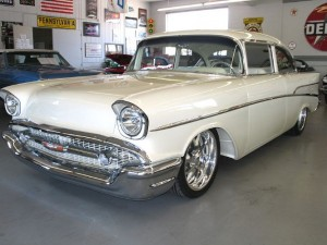 57 Chevy Modified Hood