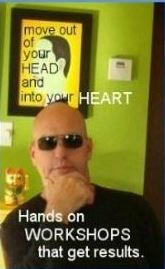 Get out of your head and into your heart.